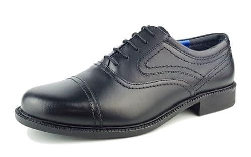 Oaktrak - Philip Black Brogue Shoes